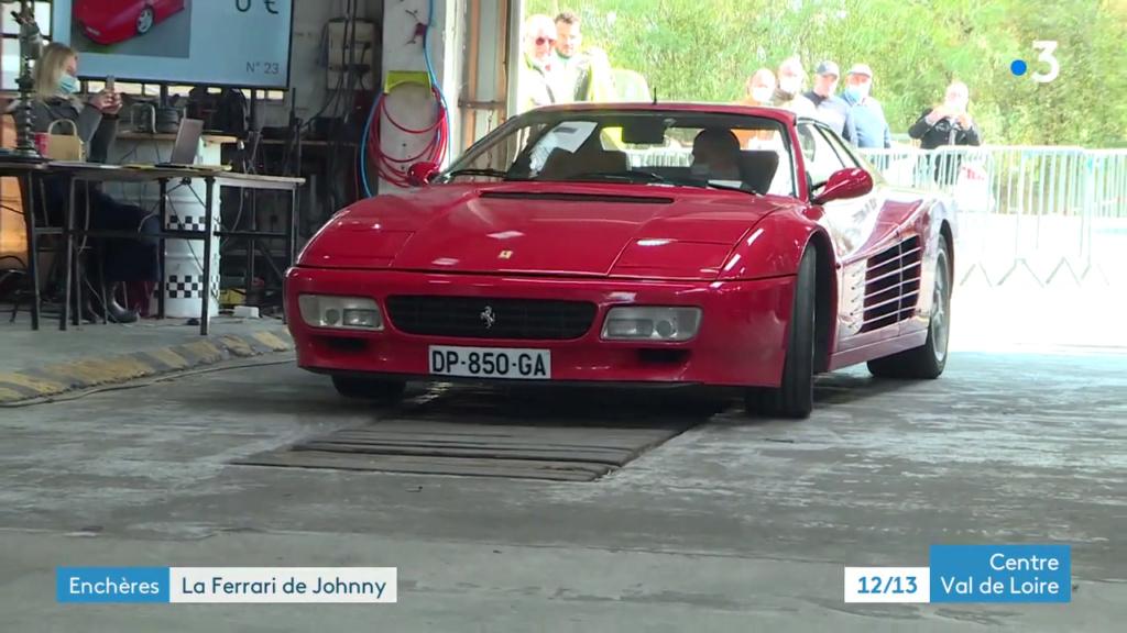 VENTE AUX ENCHERES DE LA FERRARI 512TR DE JOHNNY Vlcsna23
