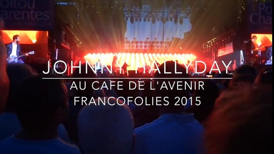 LES CONCERTS DE JOHNNY 'LES FRANCOFOLIES DE LA ROCHELLE 88, 91, 93, 96, 2015' X72011