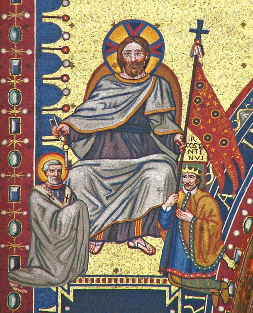 Droit divin : sur le plan temporel, il n'y a pas d'intermédiaire entre Dieu et le roi Tricli10