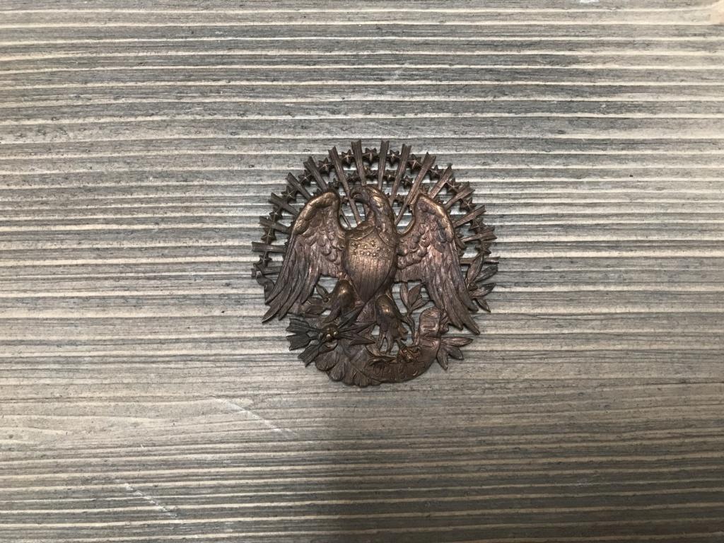 Insigne / broche US cuivre circa 1900 59557110