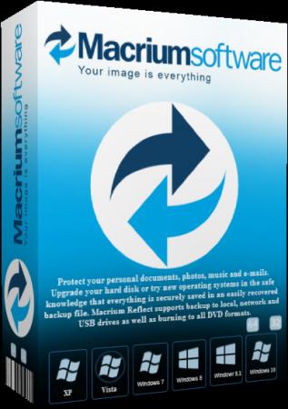 السيرفر الجديد Macrium Reflect 7.2.3825 Workstation / Server  18103010
