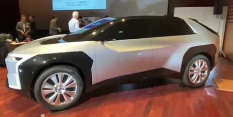 2021 - [Toyota] BZ4X Screen10