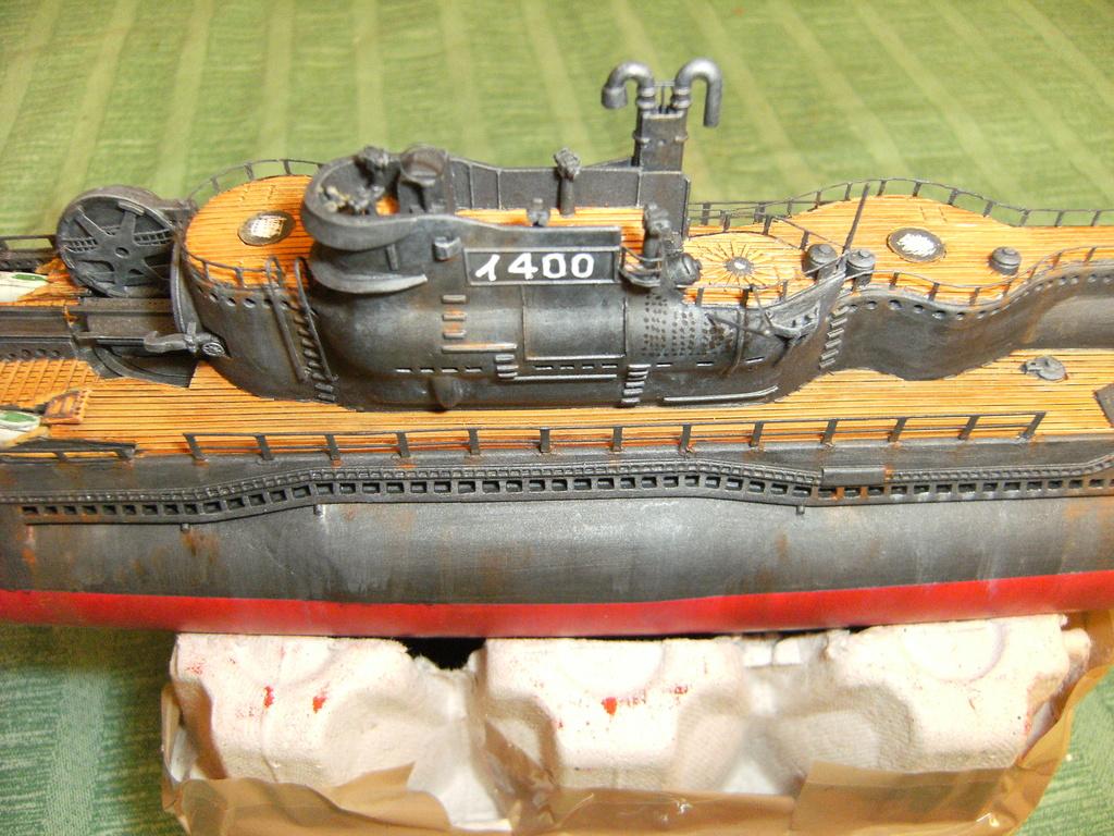 Sous-marin porte-avions japonais I-400 échelle 1/200° - Page 3 227_i-10
