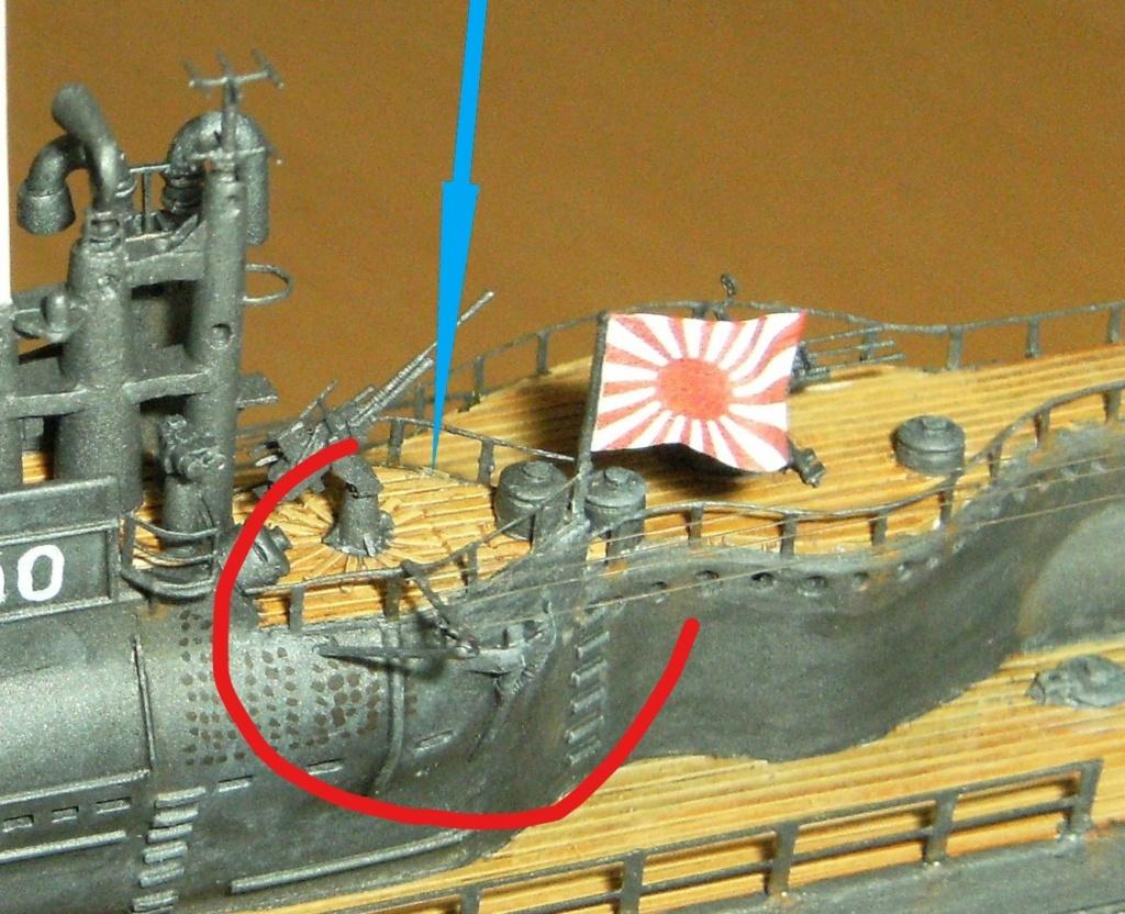 Sous-marin porte-avions japonais I-400 échelle 1/200° - Page 3 231_2_10