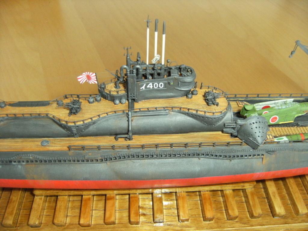 Sous-marin porte-avions japonais I-400 (scratch base Gato Trumpeter 1/200°) - Page 3 234_i-10