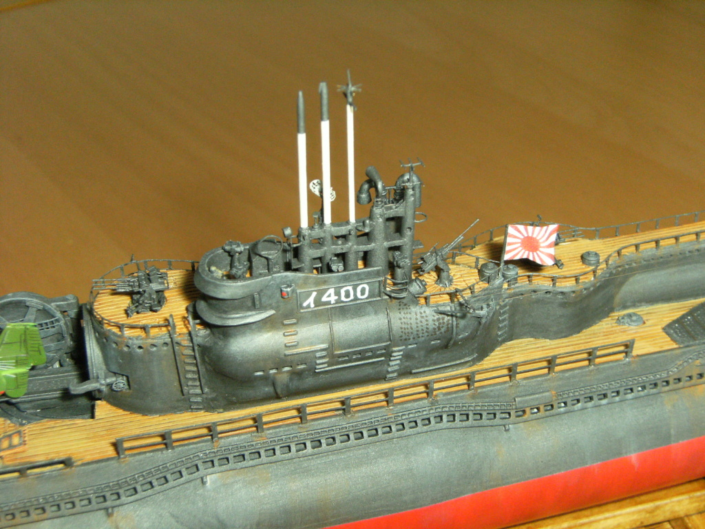 Sous-marin porte-avions japonais I-400 (scratch base Gato Trumpeter 1/200°) - Page 3 236_i-10