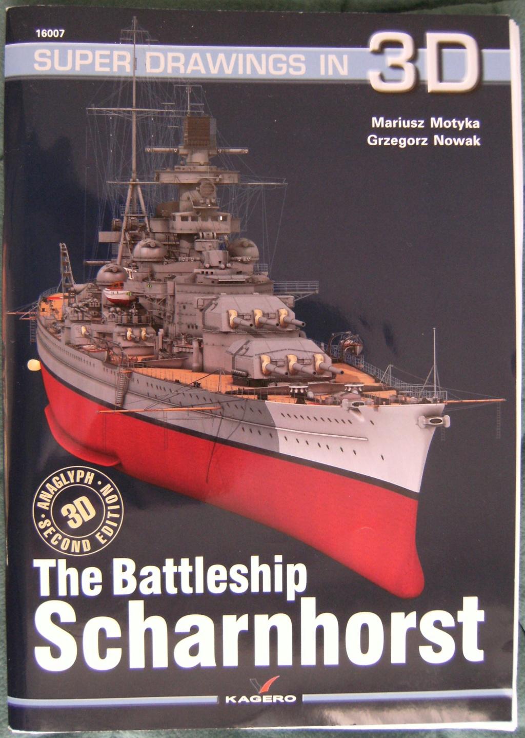 Croiseur de bataille  DKM SCHARNHORST Scharn11