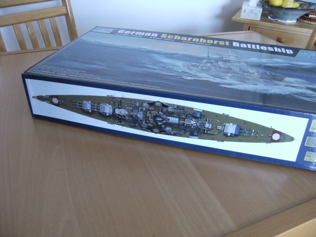 Croiseur de bataille  DKM SCHARNHORST Scharn15