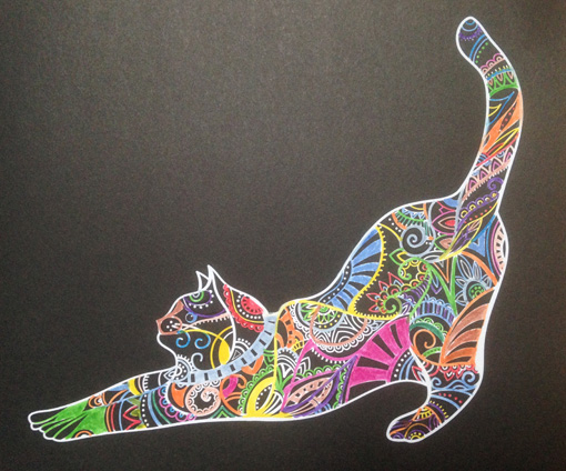 Coloriages Chat310