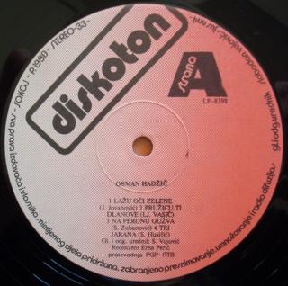 Osman Hadzic - Diskografija  314