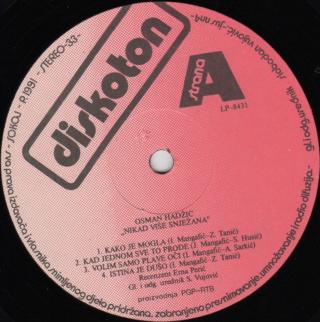 Osman Hadzic - Diskografija  315