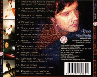 Osman Hadzic - Diskografija  411