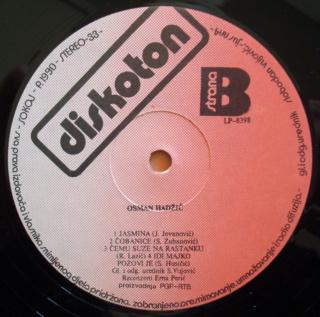 Osman Hadzic - Diskografija  413