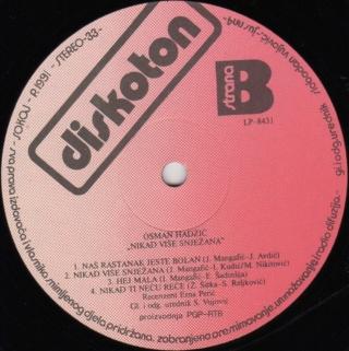 Osman Hadzic - Diskografija  414