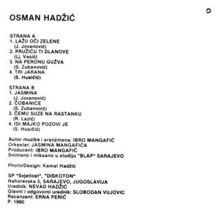 Osman Hadzic - Diskografija  612