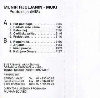 Munir Fiuljanin Muki - Diskografija  85121410