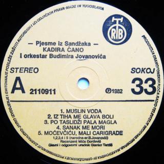 Kadira Cano Ahmedagic - Diskografija R-284412