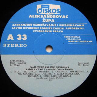 Kadira Cano Ahmedagic - Diskografija R-284416