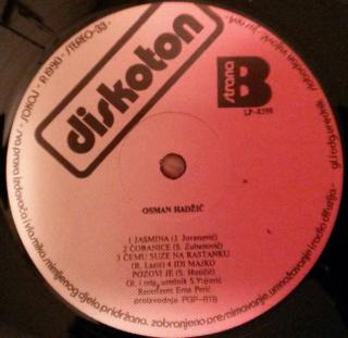 Osman Hadzic - Diskografija  R-476913