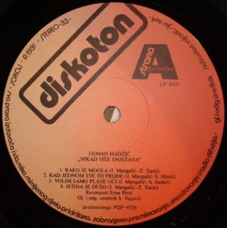 Osman Hadzic - Diskografija  R-476915