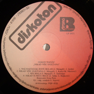 Osman Hadzic - Diskografija  R-476917