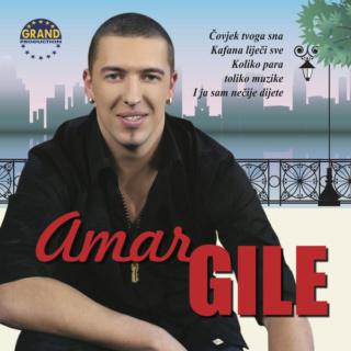 Amar Gile (2013) - Covjek Tvoga Sna CD Album R-503610