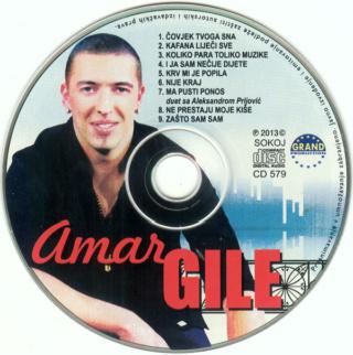 Amar Gile (2013) - Covjek Tvoga Sna CD Album R-503611