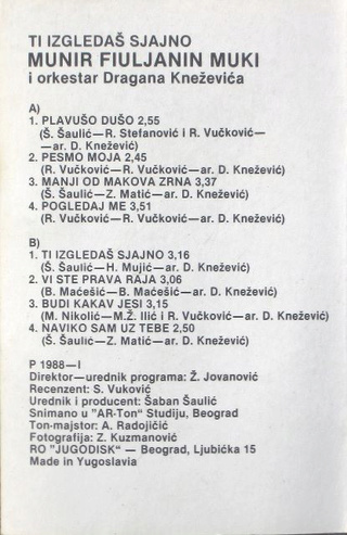 Munir Fiuljanin Muki - Diskografija  R-633517