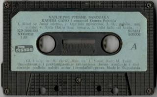 Kadira Cano Ahmedagic - Diskografija R-838810