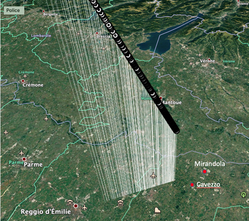Radioastro et détection de bolides 20200111