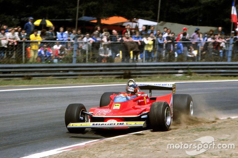 FERRARI 312T4 Gilles Villeneuve 1979, Tamiya 1/12 Gv10