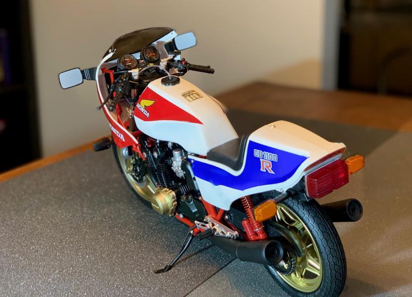 Honda CB 1100R Tamiya 1/6 Mini1033