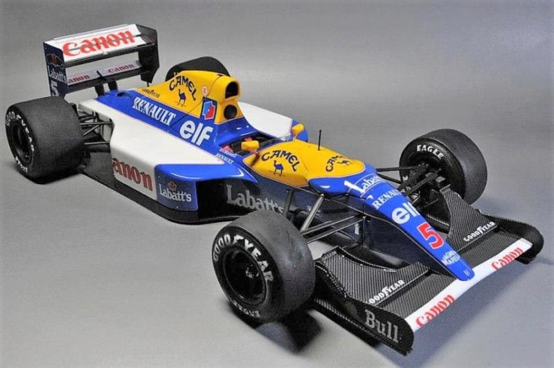 F1 Williams Renault FW14B (1/12 Tamiya) Mini_110