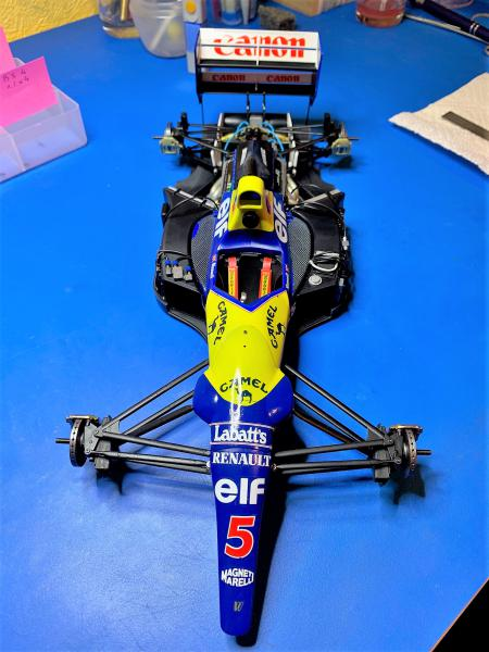 F1 Williams Renault FW14B (1/12 Tamiya) - Page 4 Mini_155