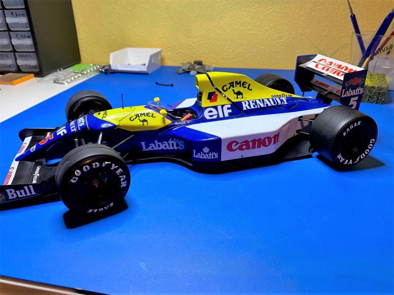 F1 Williams Renault FW14B (1/12 Tamiya) - Page 5 Mini_164