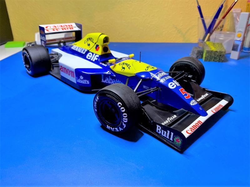 F1 Williams Renault FW14B (1/12 Tamiya) - Page 5 Mini_166