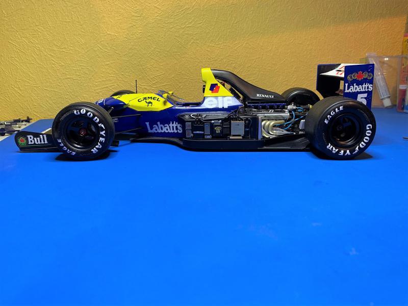 F1 Williams Renault FW14B (1/12 Tamiya) - Page 5 Mini_169