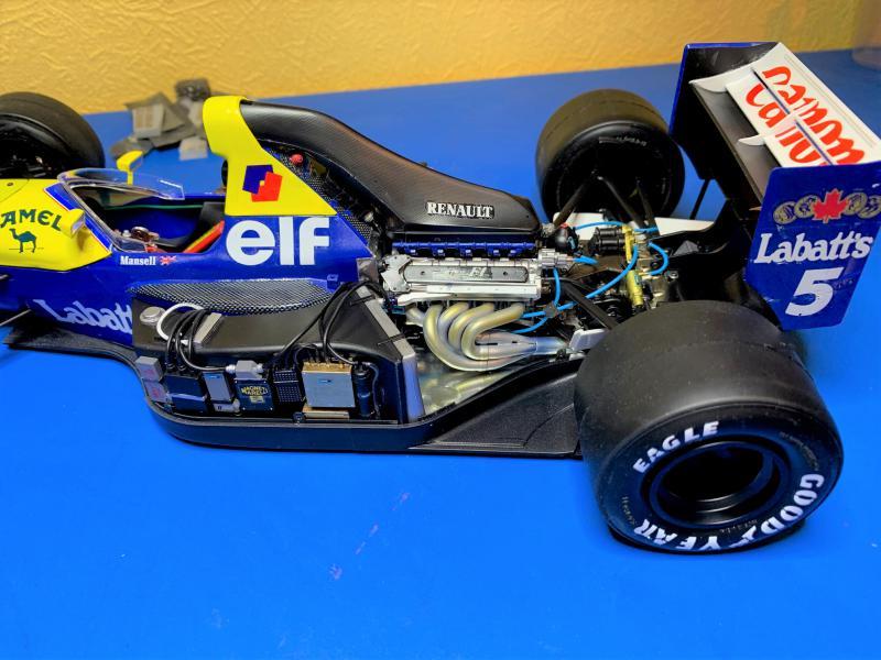 F1 Williams Renault FW14B (1/12 Tamiya) - Page 5 Mini_170