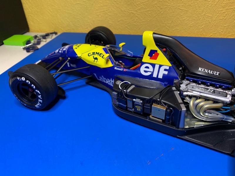 F1 Williams Renault FW14B (1/12 Tamiya) - Page 5 Mini_171