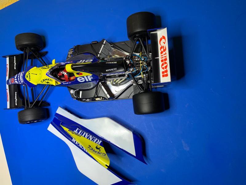 F1 Williams Renault FW14B (1/12 Tamiya) - Page 5 Mini_172