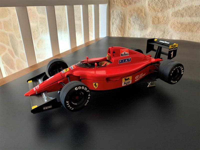 FERRARI F190 Alain Prost 1990, Tamiya 1/12 Mini_607