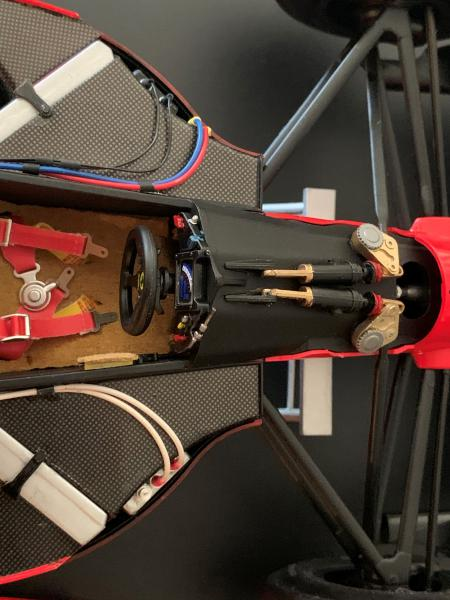 FERRARI F190 Alain Prost 1990, Tamiya 1/12 Mini_609
