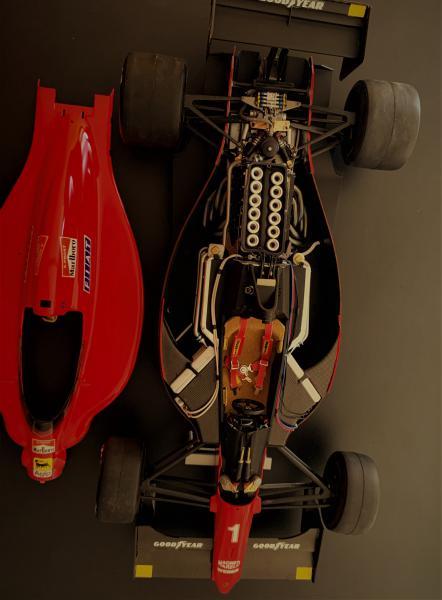 FERRARI F190 Alain Prost 1990, Tamiya 1/12 Mini_613