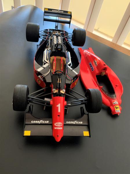 FERRARI F190 Alain Prost 1990, Tamiya 1/12 Mini_614