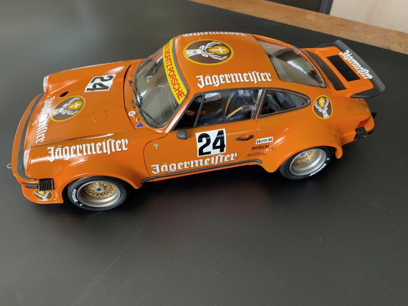 PORSCHE RSR 934 Jägermeister 1976, Tamiya 1/12 Mini_870