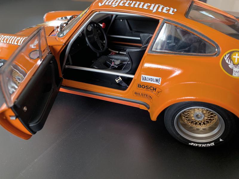 PORSCHE RSR 934 Jägermeister 1976, Tamiya 1/12 Mini_875