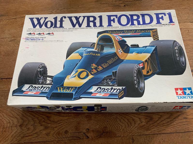 WOLF WR1 Ford 1978 1/12 Tamya (Jody Scheckter) Mini_932