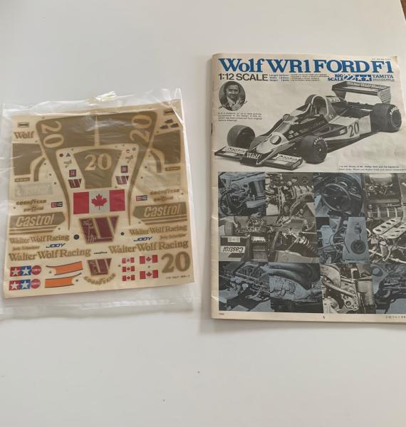 WOLF WR1 Ford 1978 1/12 Tamya (Jody Scheckter) Mini_935