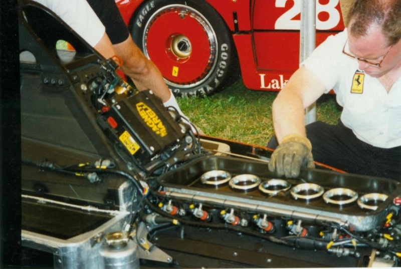 FERRARI F190 Alain Prost 1990, Tamiya 1/12 Mini_e12