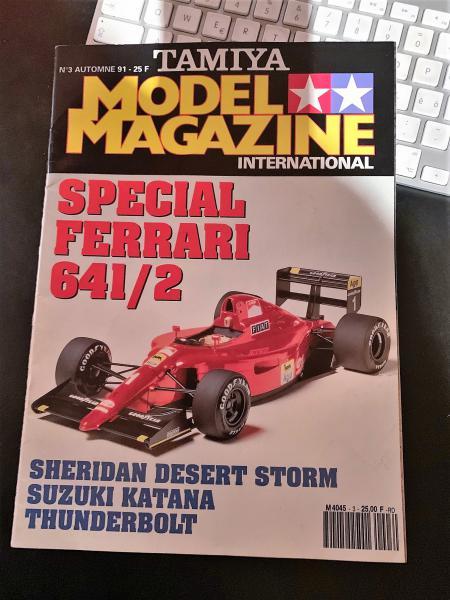 FERRARI F190 Alain Prost 1990, Tamiya 1/12 Mini_i47